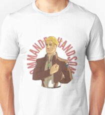 Erwin button - Commander Handsome Unisex T-Shirt