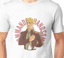 Erwin button - Commander Handsome Unisex T-Shirt