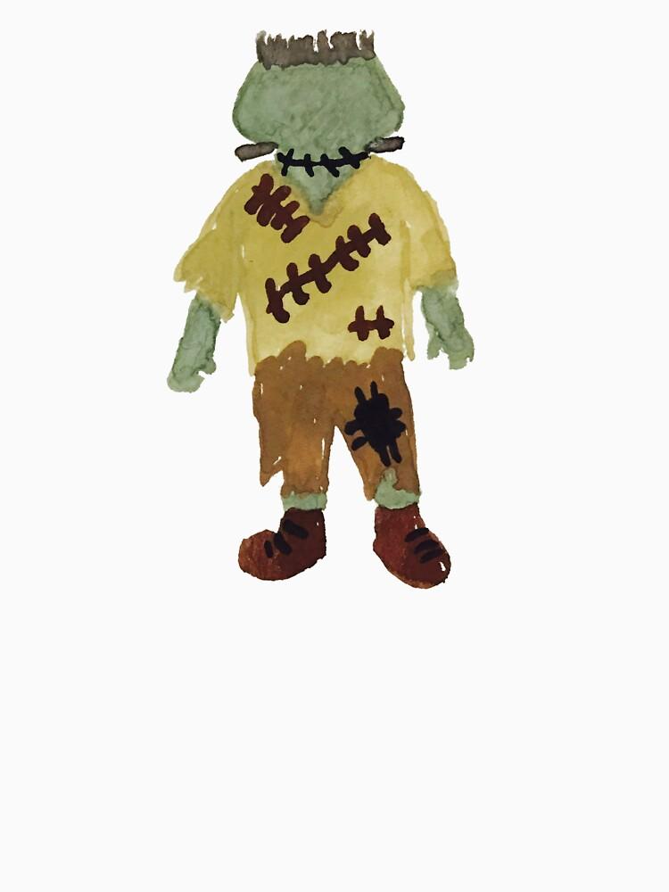 Toddies Trick or Treat Halloween Toddler Frankenstein Monster by podartist