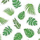 Tropical Leaves by ArtByMichelleT