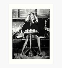 Tribute to Helmut Newton Art Print