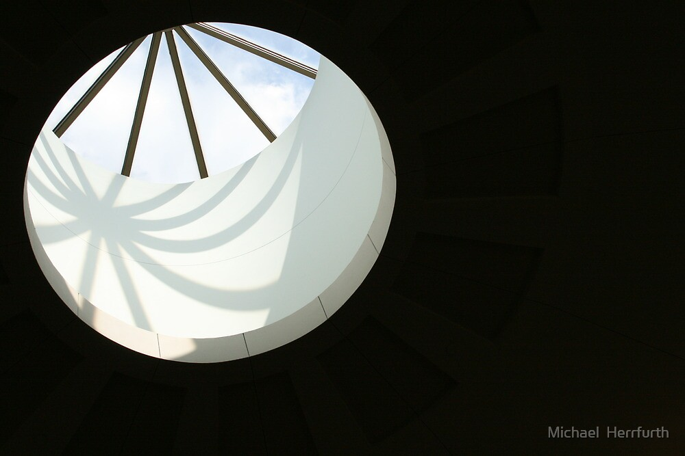 Hole in Roof by Michael  Herrfurth