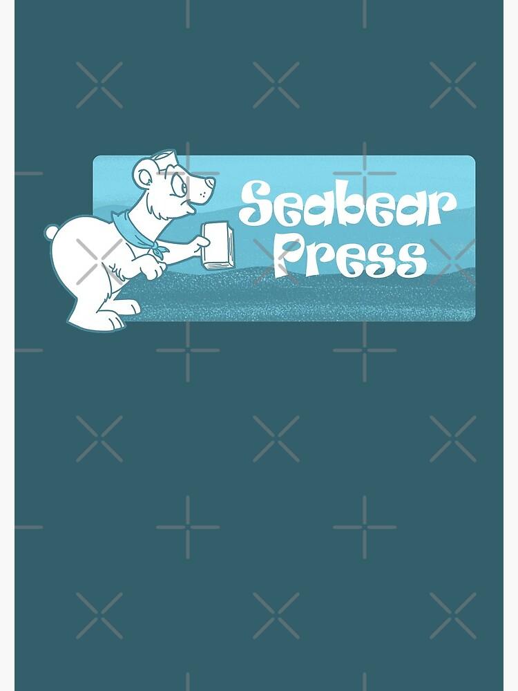 Seabear Press Bear Logo by SeabearPress