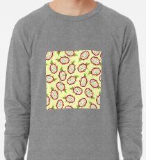 Dragon fruit on light background Lightweight Sweatshirt