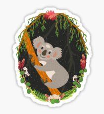 Koala Glossy Sticker