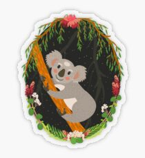 Koala Transparent Sticker