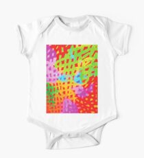 Abstract Watercolor Painting Kids Clothes