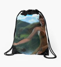 The Waters and The Wild Drawstring Bag
