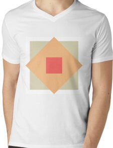 Boxes Mens V-Neck T-Shirt