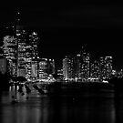 Brisbane River by Peter Doré