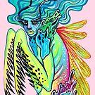 Praying Mantis Lady by cloudsover31
