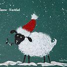 Fleece Navidad by Linda Finstad