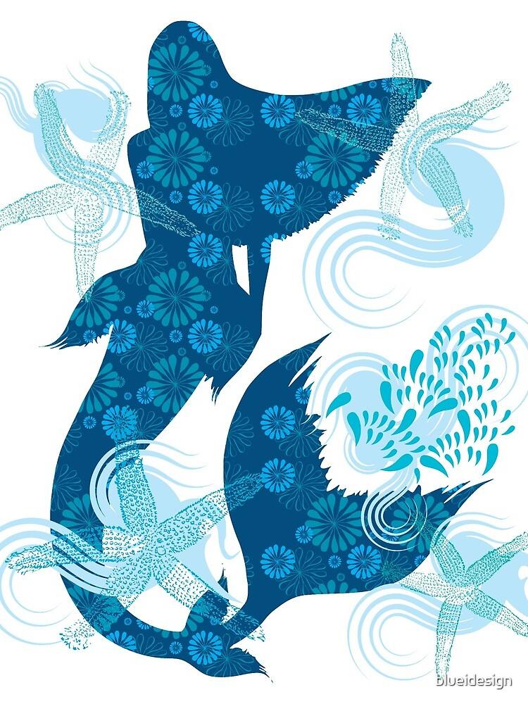 Mermaid Starfish Underwater by blueidesign