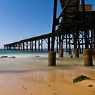 Catherine Hill Bay - Coal Loader by Mathew Courtney