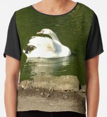 Merch #44 -- Swan - Shot 2 Chiffon Top