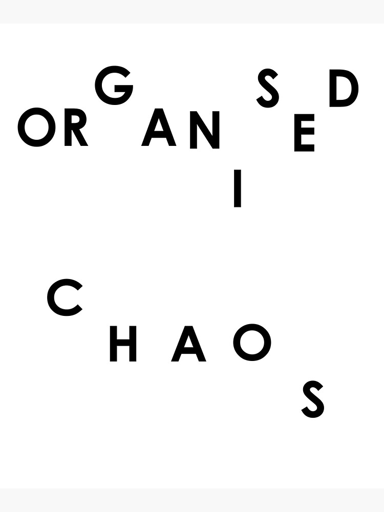 Organised Chaos - Tote Bag by embourne