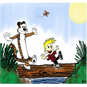 Calvin And Hobbes by DarrenNewton