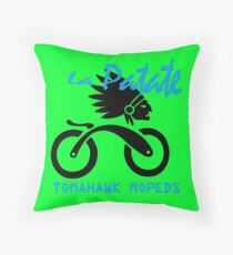 Tomahawk la patate track geek funny nerd Throw Pillow