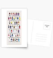 Postales Kits de fútbol del mundo