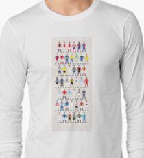 Football Kits of the World Long Sleeve T-Shirt