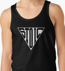 Stoic Triangle - Black Letters Tank Top