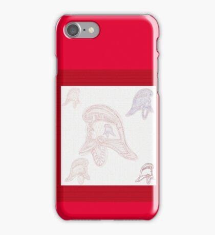 Ghostly helmets of firemen past (NSW) iPhone Case/Skin