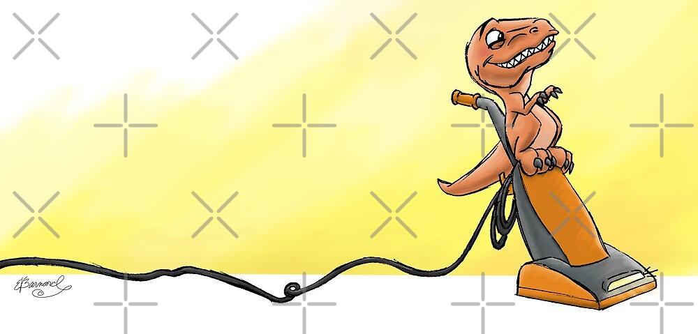 Raptor Vacuum Ride! from Mom Needs a Dinosaur! Book by SeabearPress