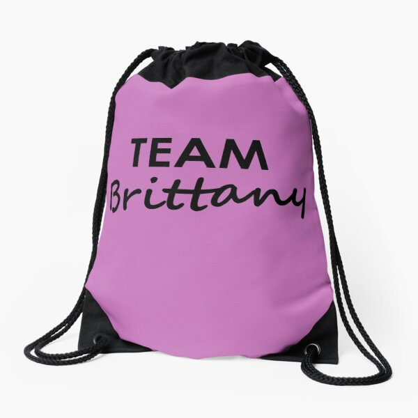 Team Brittany - Drawstring Bag Drawstring Bag
