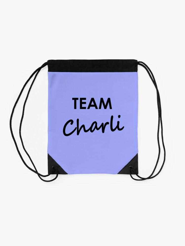 Alternate view of Team Charli - Drawstring Bag Drawstring Bag