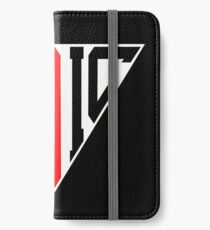 Stoic Triangle - Black Red iPhone Wallet/Case/Skin