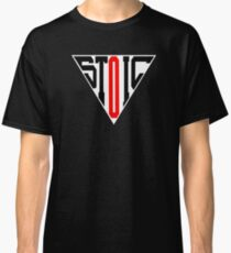 Stoic Triangle - Black Red Classic T-Shirt