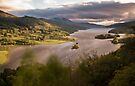 Queens View, nr Pitlochry, Perthshire Scotland by Cliff Williams