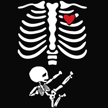Pregnant Skeleton by DarrenNewton