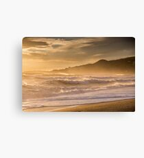 Evening light at Nerja, Andalucia, Spain Canvas Print