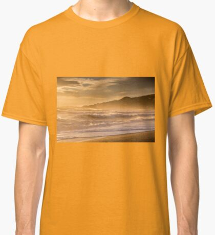 Evening light at Nerja, Andalucia, Spain Classic T-Shirt