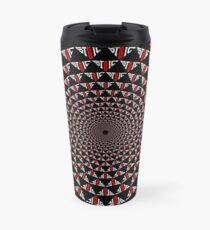 Stoic Flower - Red White Travel Mug