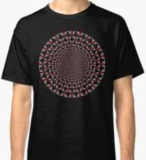 Stoic Flower - Red White Classic T-Shirt