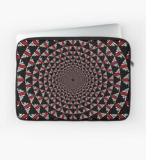 Stoic Flower - Red White Laptop Sleeve