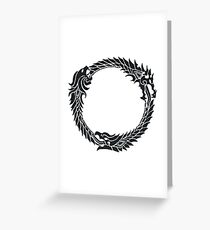 The Elder Scrolls logo Greeting Card