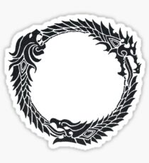The Elder Scrolls logo Sticker