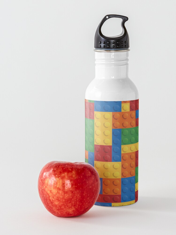 Alternate view of LegoLove Building Blocks Water Bottle