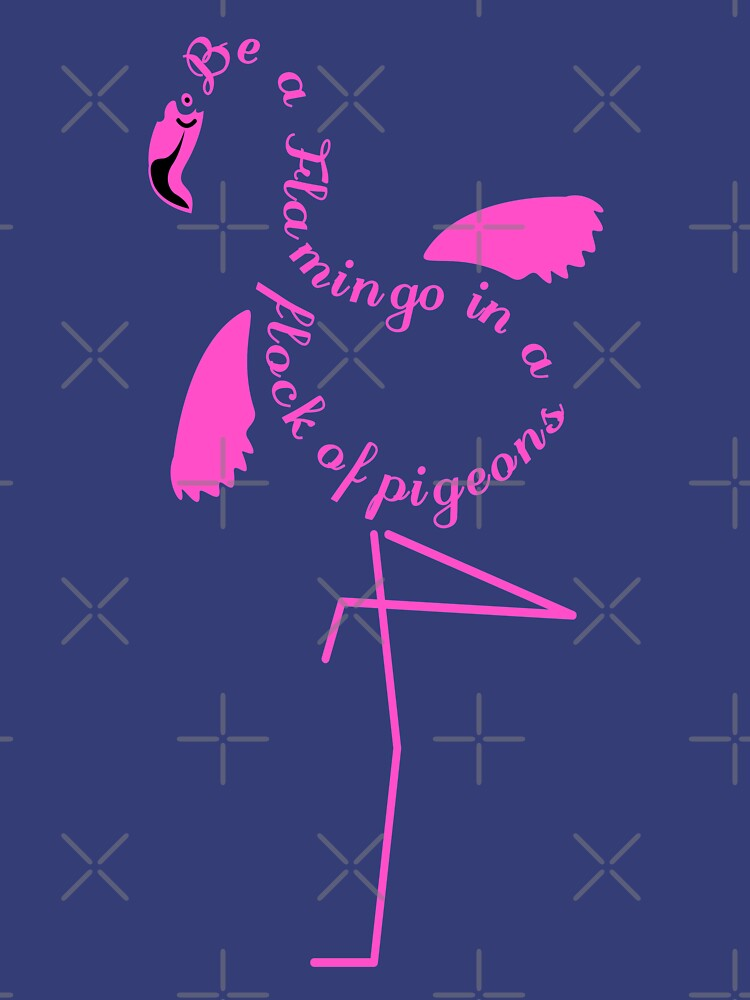 Be a Flamingo by MeganPawlak