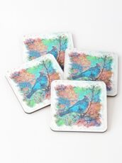 The Atlas of Dreams - Color Plate 233 Coasters