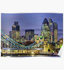 The City Of London - HDR Poster