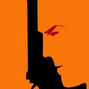 Dirty Harry - Gun by hidden-arts