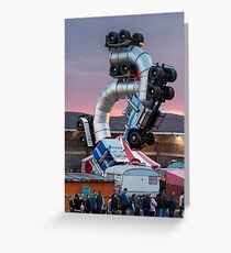 Big Rig Jig by Mike Ross at Banksy's Dismaland Greeting Card