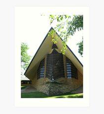 Unitarian Meeting House -- Madison, Wisconsin Art Print