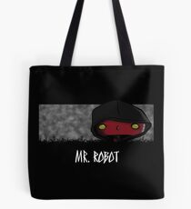 Bad Mr. Robot Tote Bag