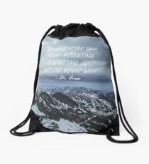 Today is your day Drawstring Bag