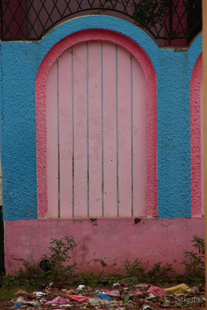 PINK DOOR by picketty